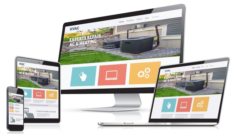 Create an HVAC website